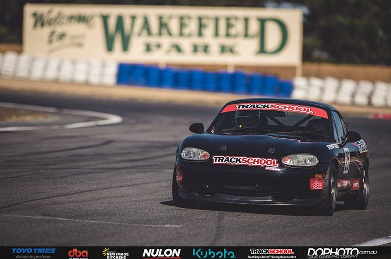 Trackschool Hire Race Car - Mazda MX5