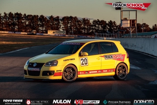 Trackschool Hire Race Car - Golf GTI