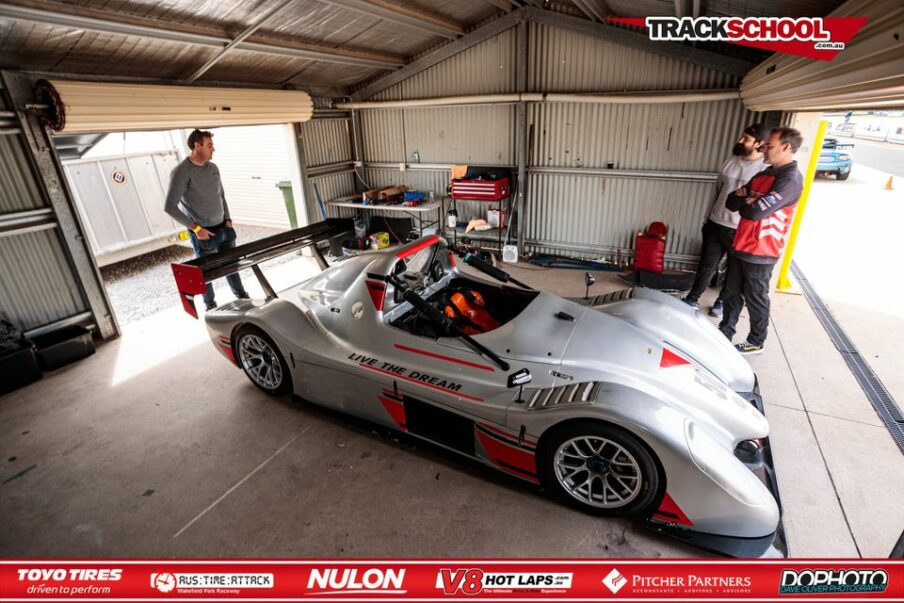 Trackschool Experience Radical SR3 Car at Wakefield park